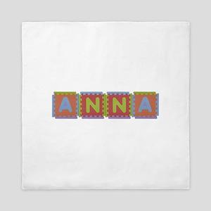Anna Foam Squares Queen Duvet