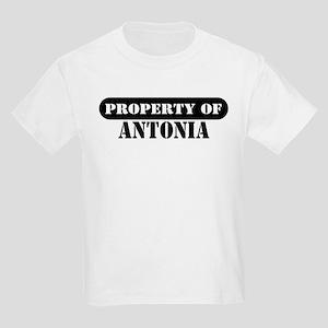 Property of Antonia Kids T-Shirt