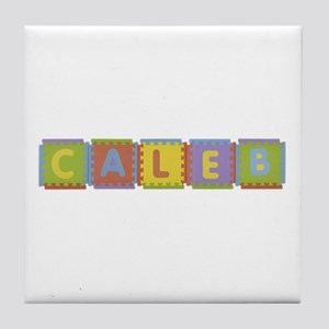 Caleb Foam Squares Tile Coaster