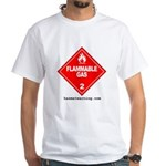 10x10-flammable-gas-1-0 T-Shirt