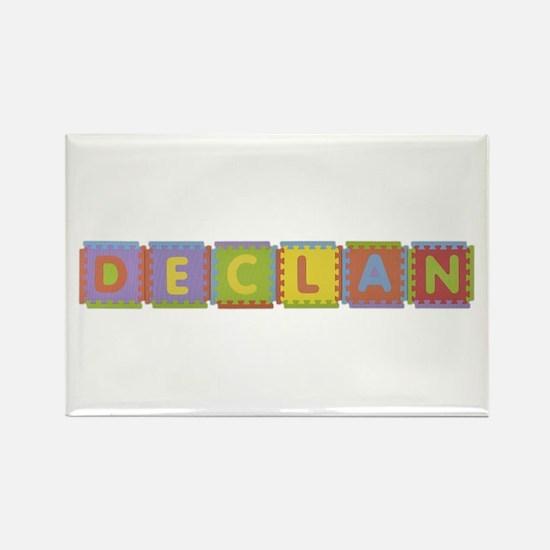 Declan Foam Squares Rectangle Magnet