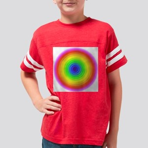 color-rainbow-strong-2 Youth Football Shirt