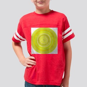 color-yellow Youth Football Shirt