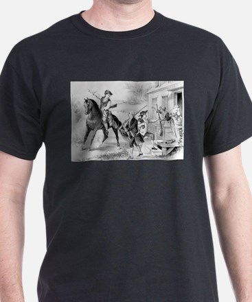 The minute-men of the revolution - 1876 T-Shirt