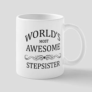 World's Most Awesome Stepsister Mug