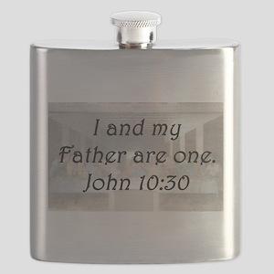 John 10:30 Flask