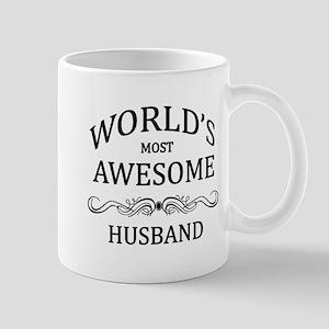 World's Most Awesome Husband Mug