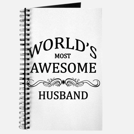 World's Most Awesome Husband Journal
