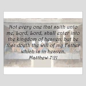 Matthew 7:21 Posters