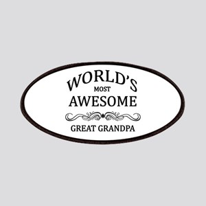 World's Most Awesome Great Grandpa Patches