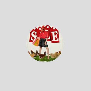 Sale Mini Button