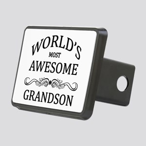 World's Most Awesome Grandson Rectangular Hitch Co