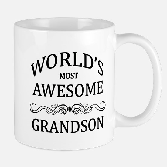 World's Most Awesome Grandson Mug