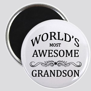 World's Most Awesome Grandson Magnet