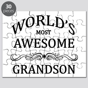 World's Most Awesome Grandson Puzzle