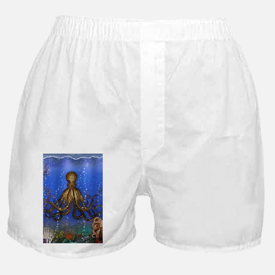 Octopus' Lair - colorful Boxer Shorts