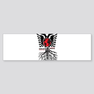 Albanian Roots Bumper Sticker