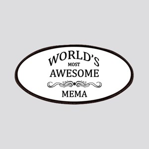 World's Most Awesome Mema Patches