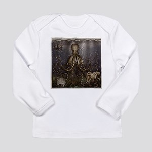 Octopus' lair - Old Photo Long Sleeve Infant T-Shi