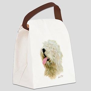 Old Eng. Sheepdog / Bobtail Canvas Lunch Bag