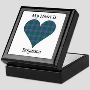 Heart - Fergusson Keepsake Box
