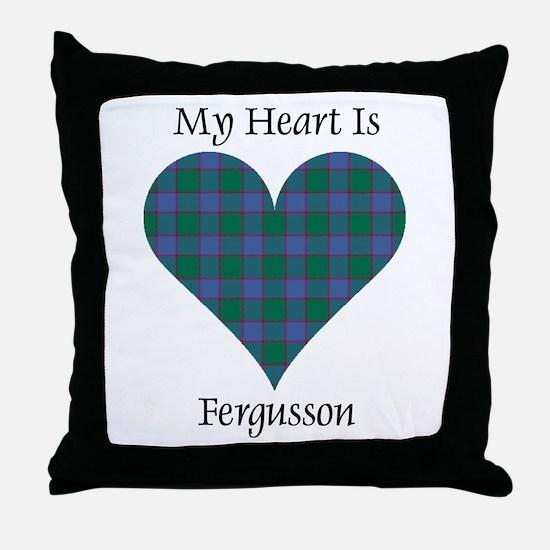 Heart - Fergusson Throw Pillow