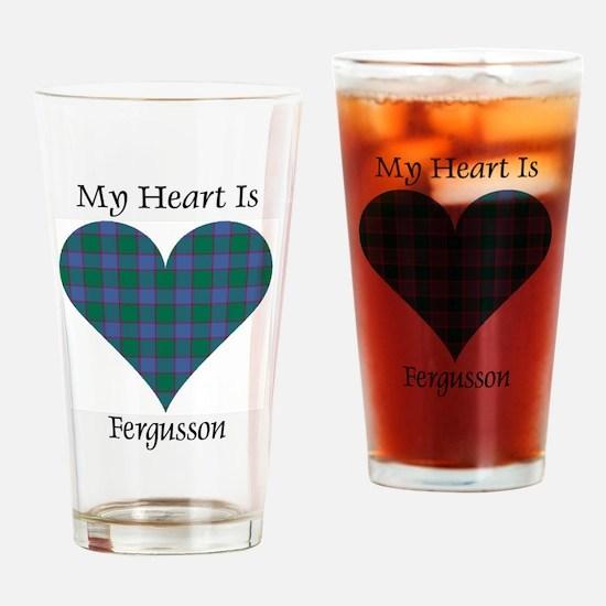 Heart - Fergusson Drinking Glass