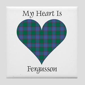 Heart - Fergusson Tile Coaster