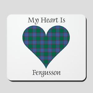 Heart - Fergusson Mousepad