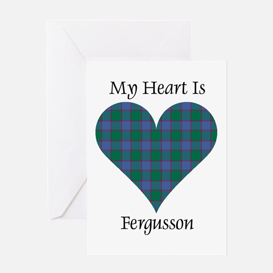 Heart - Fergusson Greeting Card