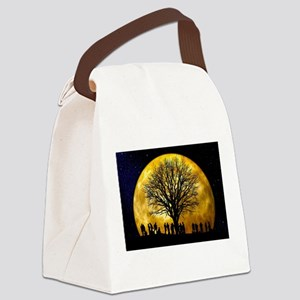 Family Tree Canvas Lunch Bag