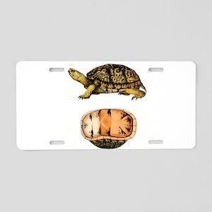 Shell Shock !! Aluminum License Plate
