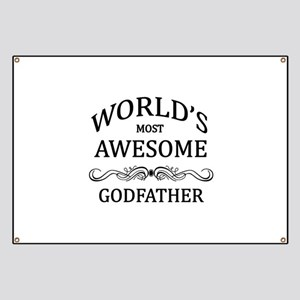 World's Most Awesome Godfather Banner