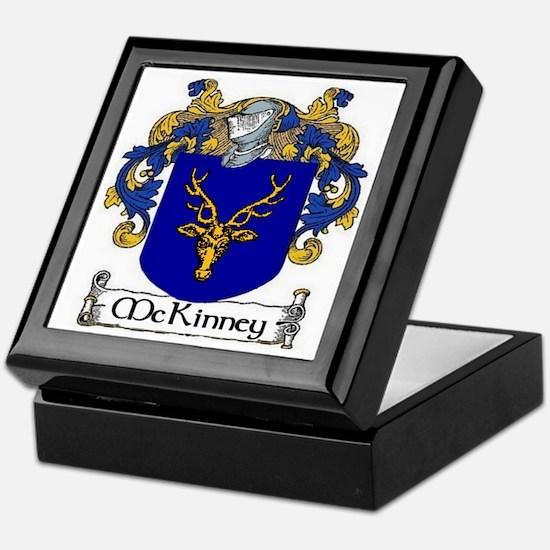 McKinney Coat of Arms Keepsake Box