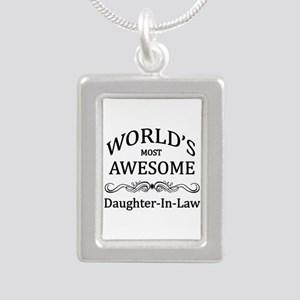 World's Most Awesome Daughter-in-Law Silver Portra