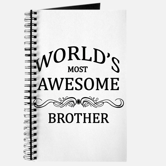 World's Most Awesome Brother Journal
