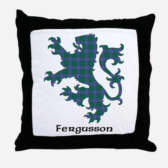 Lion - Fergusson Throw Pillow