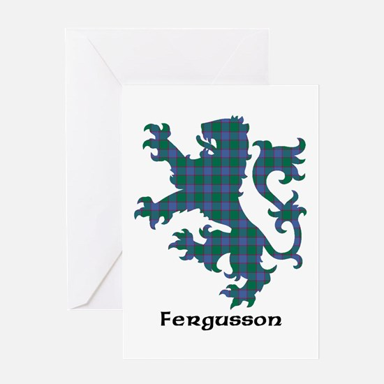 Lion - Fergusson Greeting Card