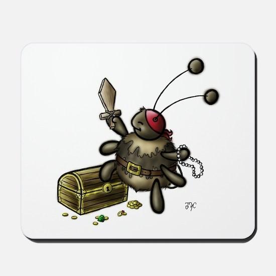 Playing Pirate Mousepad