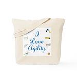I Love Agility 2 Tote Bag
