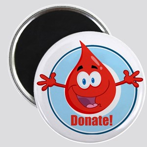donate blood cartoon Magnet