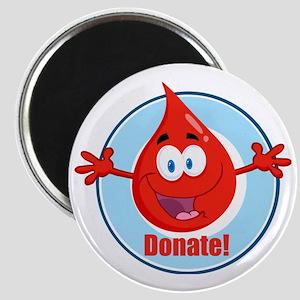 donate blood cartoon Magnet