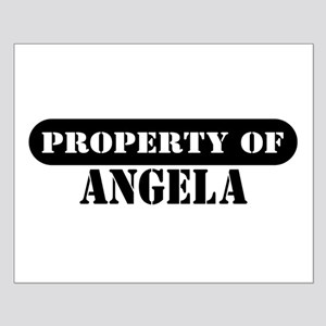 Property of Angela Small Poster