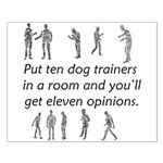 Dog Trainers Small Poster