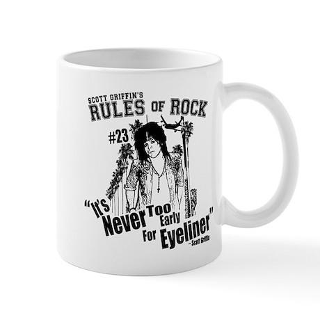 Rules of Rock #23 - Eyeliner Mug