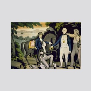 The Capture of Andre 1780 - 1845 Magnets