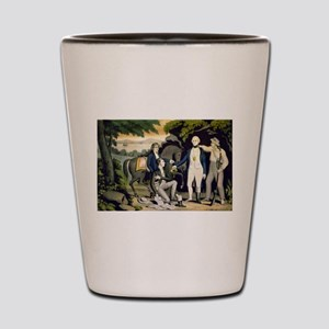 The Capture of Andre 1780 - 1845 Shot Glass