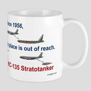 KC-135, B-52, and B-2 Coffee Mug