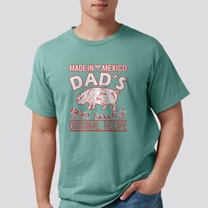 Made In Mexico Dads BBQ Mens Comfort Colors Shirt