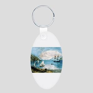 The Bay of Annapolis - Nova Scotia - 1907 Keychain